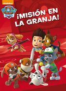 PAW Patrol Patrulla de Cachorros ¡Misión en la granja! Book Cover