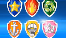 badges paw patrol wiki fandom powered by wikia. Black Bedroom Furniture Sets. Home Design Ideas