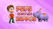PAW Patrol Hippos Title Card