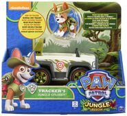 PAW Patrol Tracker's Jungle Cruiser Toy Figure
