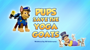 Pups Save the Yoga Goats (HQ)