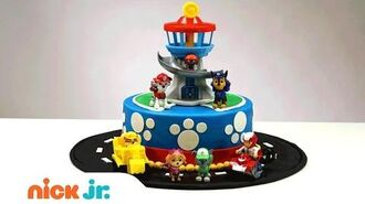 How to Create & Decorate Your Own PAW Patrol Cake! Nickelodeon Parents (AD)