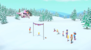 PAW Patrol Pups Save a Snowboard Competition Scene 1
