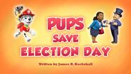 Pups Save Election Day (HQ)