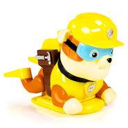 Paddlin Pups Bath Toy- Rubble