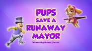 Pups Save a Runaway Mayor (HQ)