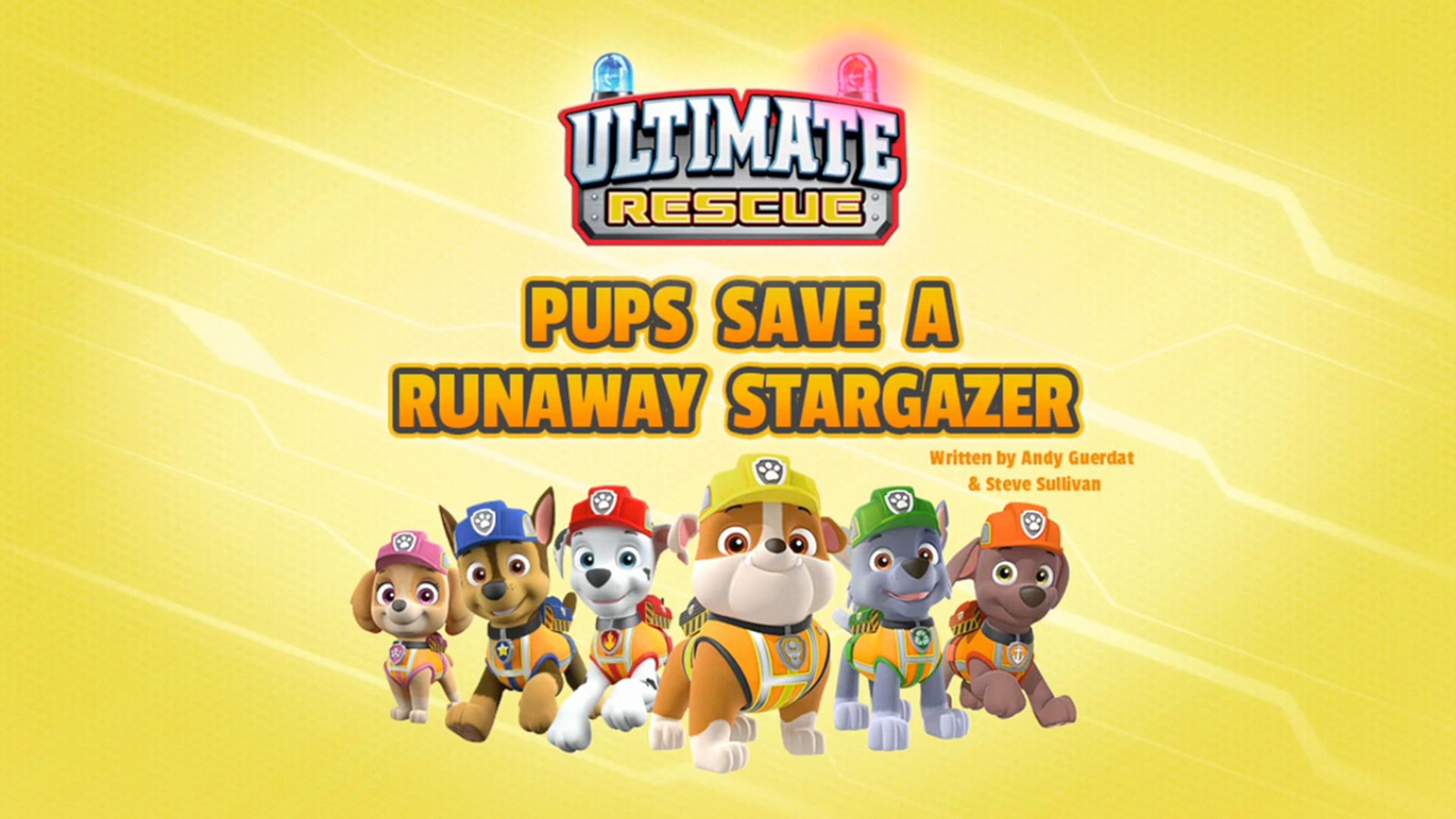 Ultimate Rescue: Pups Save a Runaway Stargazer | PAW Patrol