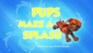 Pups Make A Splash