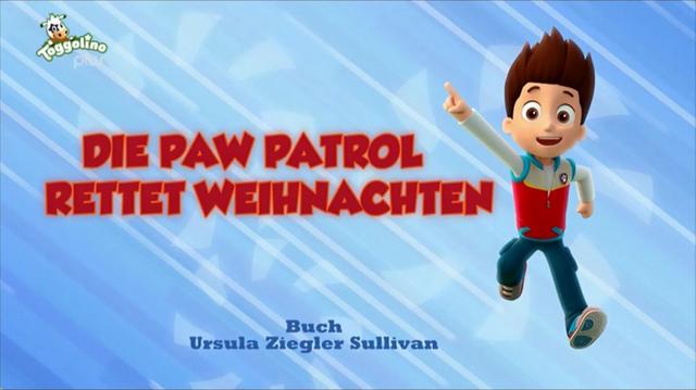 File:PAW Patrol – Helfer auf vier Pfoten Die PAW Patrol rettet Weihnachten.png