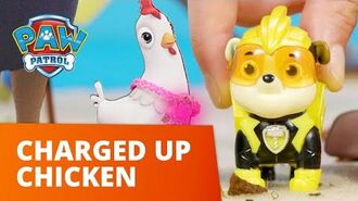 PAW Patrol Mighty Pups Save A Charged Up Chicken Toy Episode PAW Patrol Official & Friends