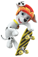 PAW Patrol Marshall Off Duty Skateboard