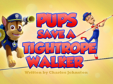 Pups Save a Tightrope Walker