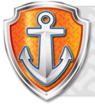 Paw Patrol Badges Rubble