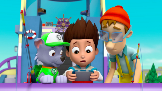 File:PAW Patrol 315 Scene 20 Ryder, Rocky, and Cap'n Turbot Captain.png