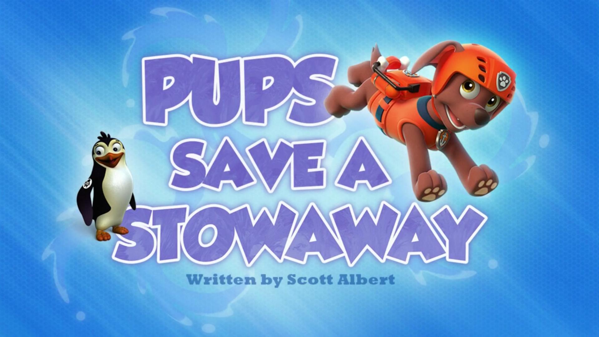 pups save a stowaway  paw patrol wiki  fandom