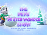 The Pups' Winter Wonder Show