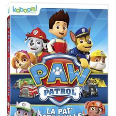 Canadian French cover (<i>PAW Patrol&#160;: La Pat' Patrouille</i>)