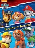 PAW Patrol Ready to Roll! Book Cover Spanish