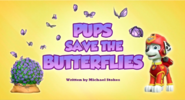 Pups Save the Butterflies