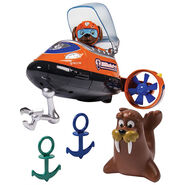 PAW Patrol Wally the Walrus Toy Zuma Bath Adventure (3)