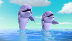 PAW Patrol Lost Tooth Scene 33 Dolphins