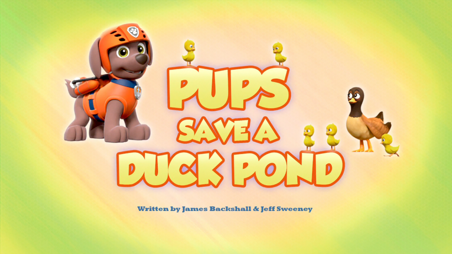Pups Save a Duck Pond | PAW Patrol Wiki | FANDOM powered by