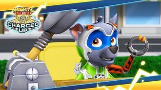 Mighty Pups Charged Up Pups vs. the Teenybots PAW Patrol Official & Friends