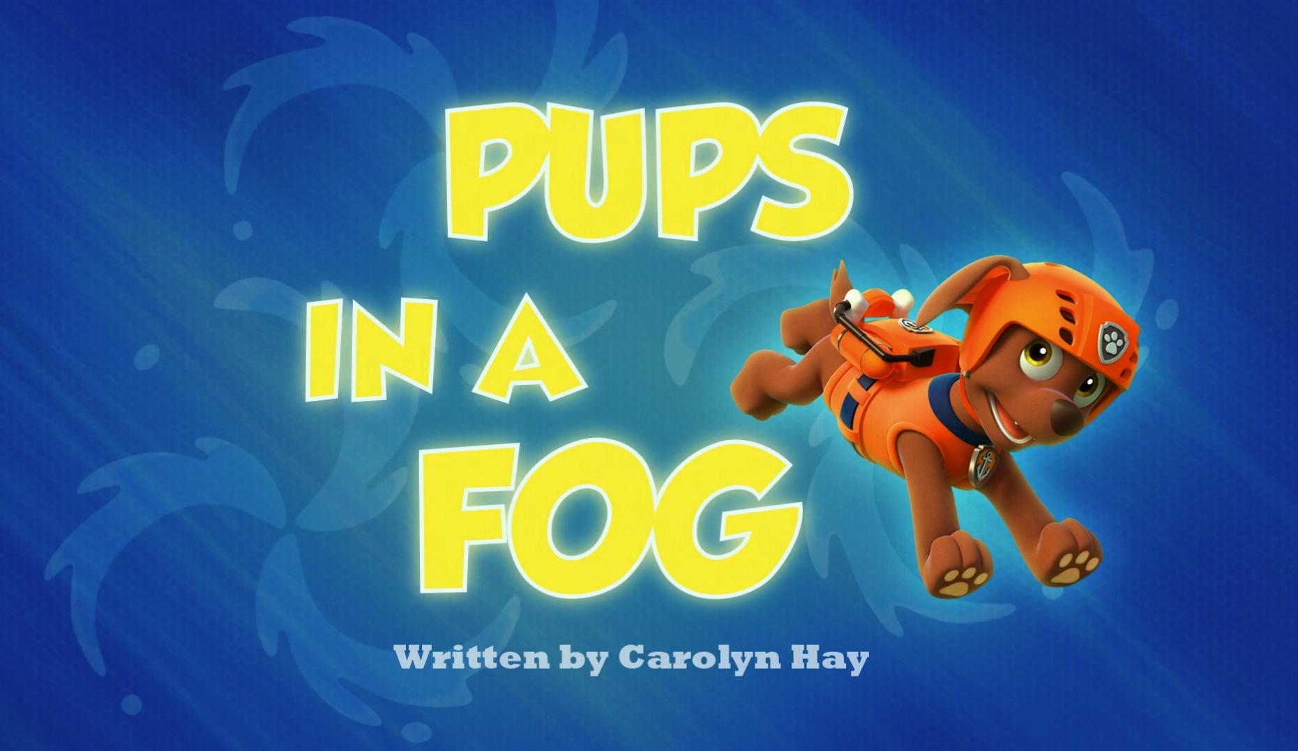 pups in a fog  paw patrol wiki  fandom poweredwikia