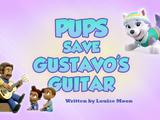 Pups Save Gustavo's Guitar