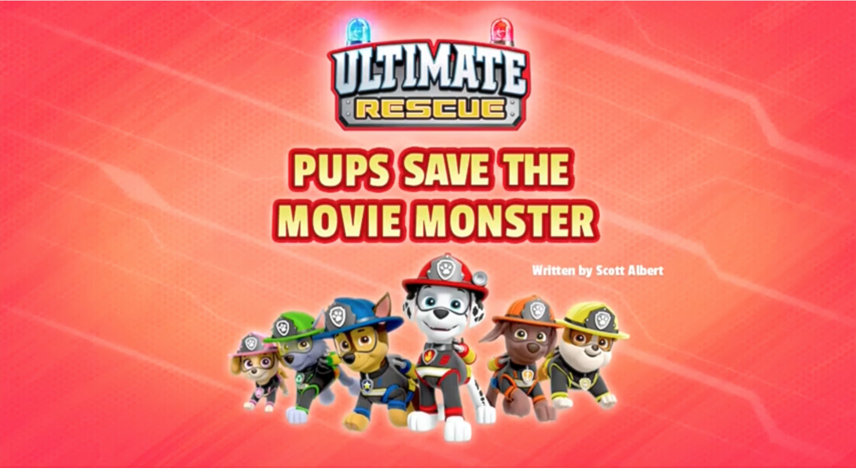 Pups Save Christmas Book.Ultimate Rescue Pups Save The Movie Monster Paw Patrol