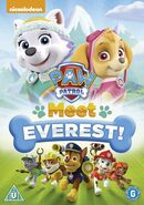 PAW Patrol Meet Everest! DVD UK