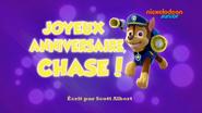 PAW Patrol La Pat' Patrouille Joyeux anniversaire, Chase!