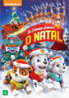PAW Patrol Pups Save Christmas DVD Brazil