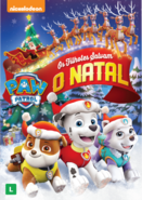 PAW Patrol Pups Save Christmas DVD Brazil