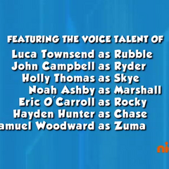 Dubbing cast credits (part 1) from Season 1 to Season 2 Episode 5 on Nick Jr.