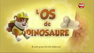 PAW Patrol La Pat' Patrouille L'Os de dinosaure