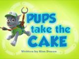 Pups Take the Cake