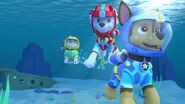 Chase marshall and rubble sea patrol scuba suits