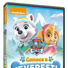 Spanish cover (<i>Conoce a ¡Everest!</i>)