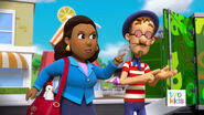 PAW Patrol Pups Save the Critters Mayor Goodway and Francois Turbot