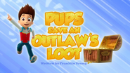 Pups Save an Outlaw's Loot
