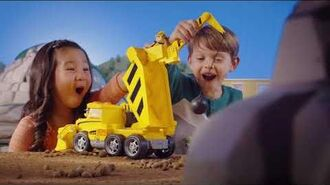 PAW Patrol Ultimate Rescue Construction Truck 15 Commercial