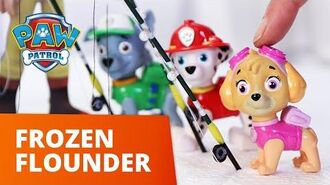 PAW Patrol Pups Save a Frozen Flounder Toy Episode PAW Patrol Official & Friends