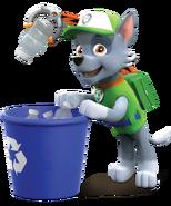 PAW Patrol Rocky Recycling Bin
