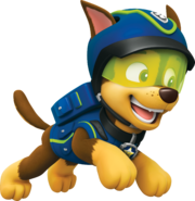 PAW Patrol Super Spy Chase Running