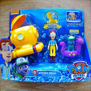 Diving Bell Bath Playset INB