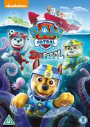 PAW Patrol Sea Patrol DVD UK