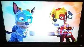 Paw Patrol Mighty Pups Charged Up Mighty Pups Versus the Copycat Promo
