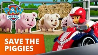 PAW Patrol Pups Save the Piggies Toy Episode PAW Patrol Official & Friends