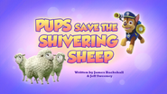 Pups Save the Shivering Sheep (HQ)